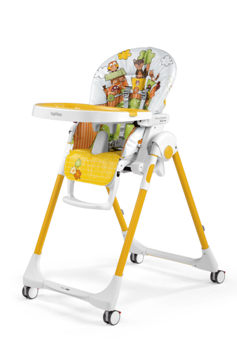 Стульчик для кормления Peg-Perego Prima Pappa Follow Me Fox and Friends