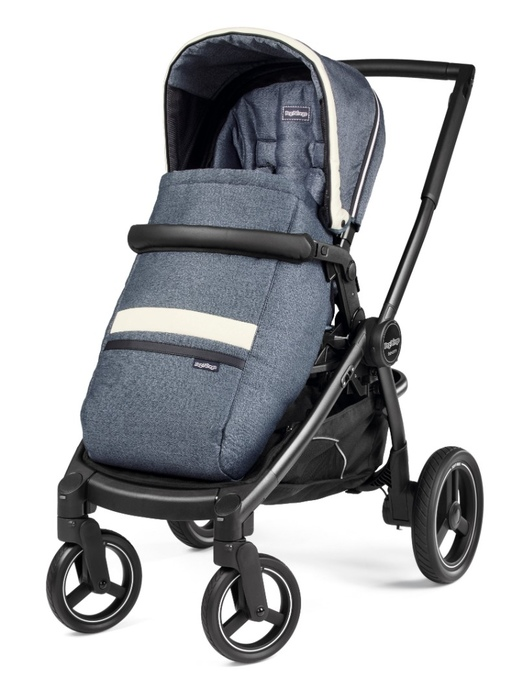 Коляска 2 в 1 Peg-Perego Team Pop-Up Combo Luxe Mirage