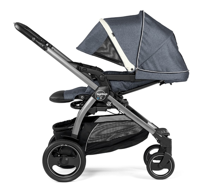 Коляска 3 в 1 Peg-Perego Book 51S Elite i-Size Luxe Mirage