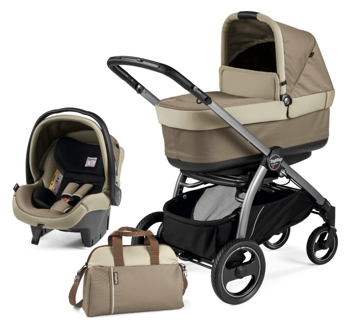 Коляска 2 в 1 Peg-Perego Book S Pop Up Class Beige
