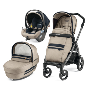 Коляска 3 в 1 Peg-Perego Book 51 Elite Lounge Luxe Ecru