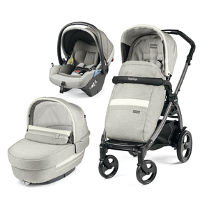 Коляска 3 в 1 Peg-Perego Book 51 Elite Lounge Luxe Pure