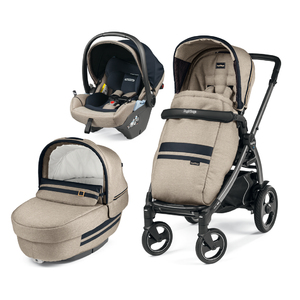 Коляска 3 в 1 Peg-Perego Book 51S Elite Lounge Luxe Ecru