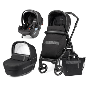 Коляска Peg-Perego Book Rock Black Lounge Elite Modular