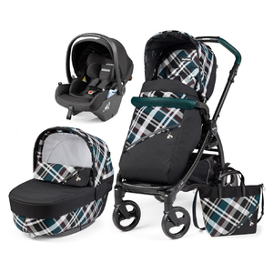 Коляска Peg-Perego Book Tartan Lounge Elite Modular