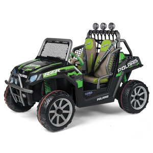 Детский электромобиль Peg-Perego Polaris Ranger RZR Green Shadow 2019
