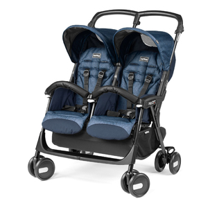 Коляска для двойни Peg-Perego Aria Shopper Twin Indigo
