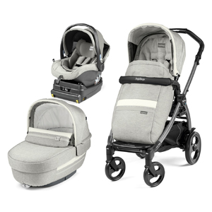 Коляска 3 в 1 Peg-Perego Book 51 Elite I-Size Luxe Pure