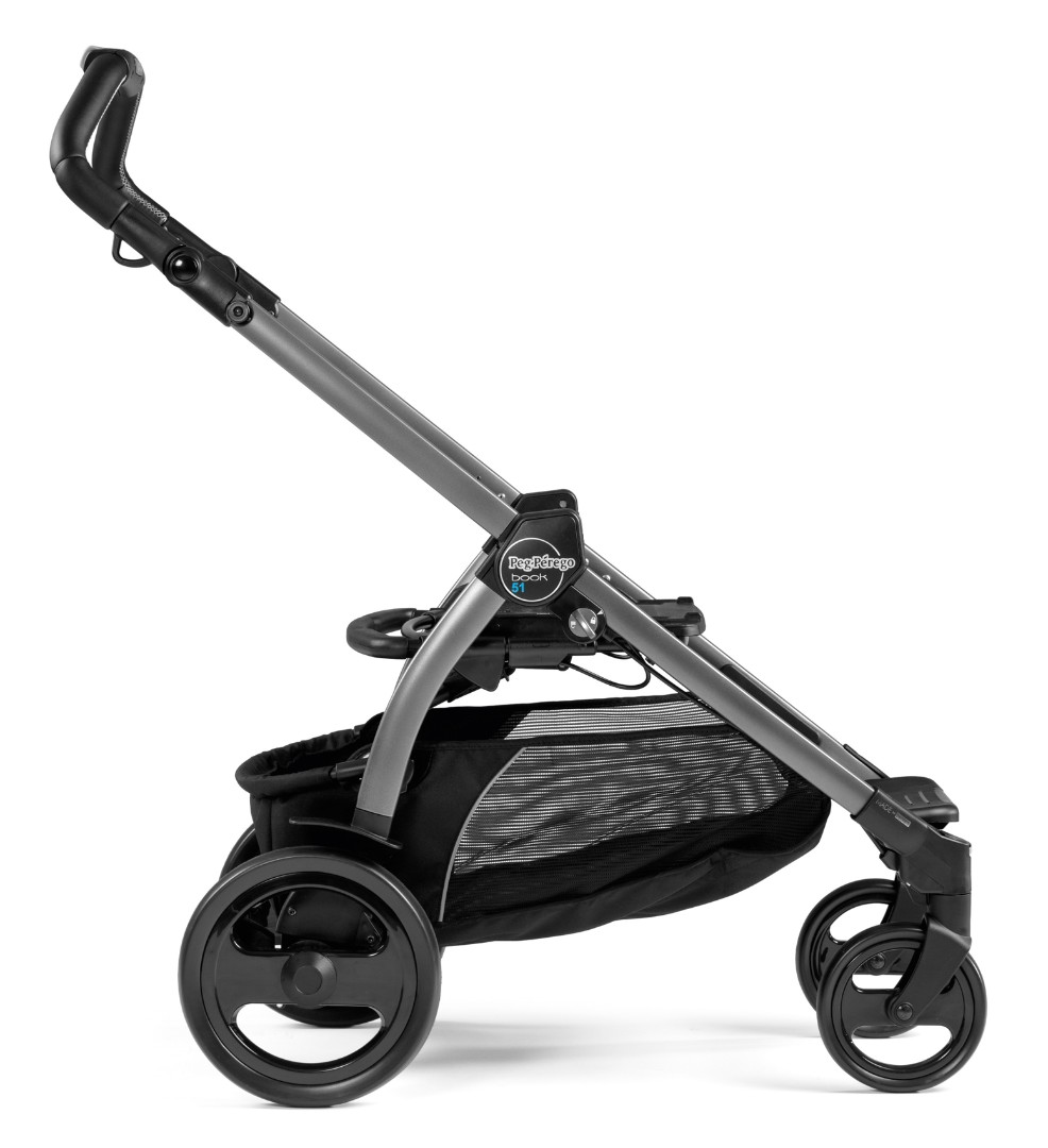 Коляска 3 в 1 Peg-Perego  Book 51 Pop-Up i-Size Luxe Mirage