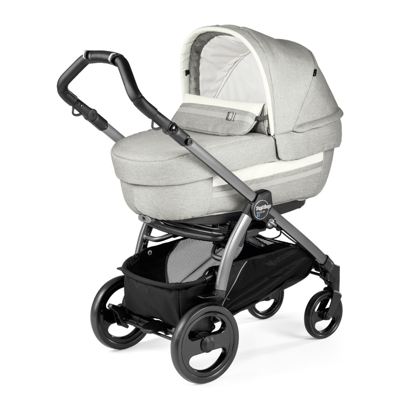 Коляска 2 в 1 Peg Perego Book 51 Elite Combo Luxe Pure