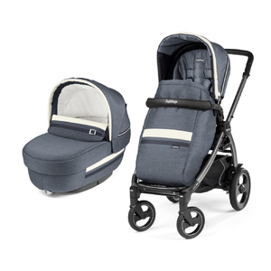 Коляска 2 в 1 Peg-Perego Book 51S Elite Combo Luxe Mirage