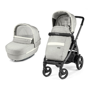 Коляска 2 в 1 Peg-Perego Book 51S Elite Combo Luxe Pure