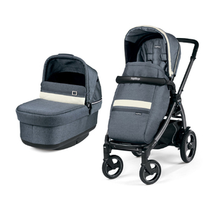 Коляска 2 в 1 Peg-Perego Book 51S Pop-Up Combo Luxe Mirage
