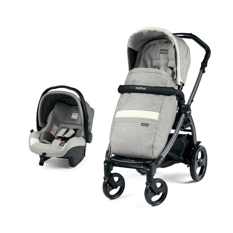 Коляска 2 в 1 Peg-Perego Book 51 SL Travel System Luxe Pure