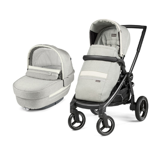 Коляска 2 в 1 Peg-Perego Team Elite Combo Luxe Pure