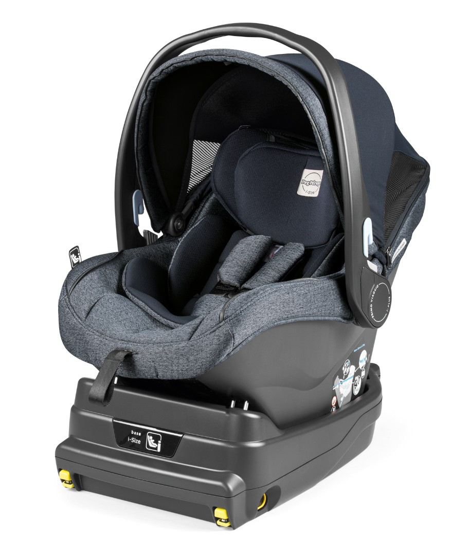 Коляска 2 в 1 Peg-Perego Team i-Size Travel System Luxe Mirage