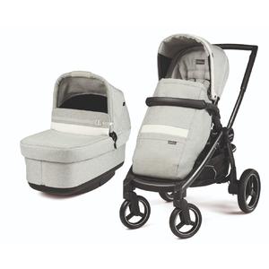 Коляска 2 в 1 Peg-Perego Team Pop-Up Combo Luxe Pure