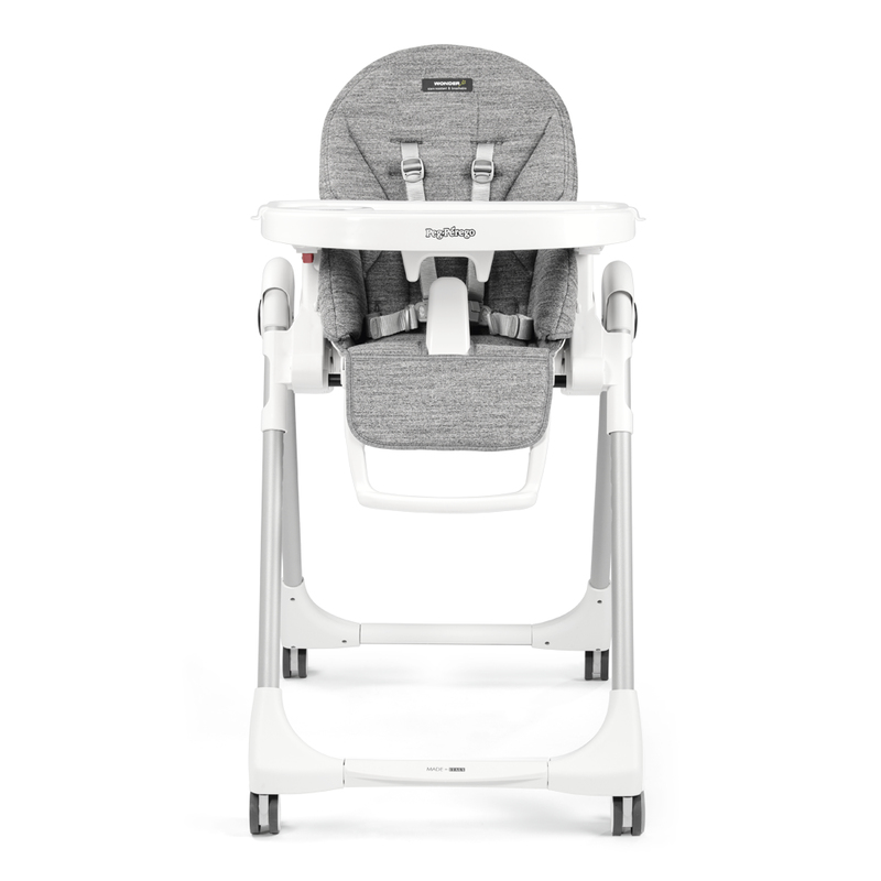 Стульчик для кормления Peg-Perego Prima Pappa Follow Me Wonder Grey
