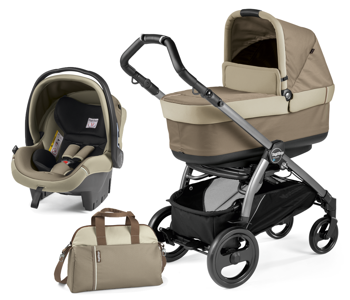 Коляска 2 в 1 Peg-Perego Book 51 Pop Up Class Beige