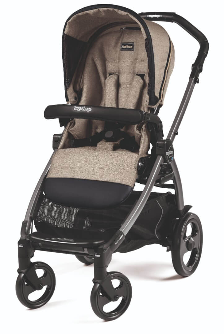 Прогулочный блок Peg-Perego Seat Pop Up Luxe Ecru